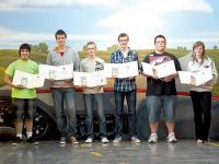 Car clubs sponsor student awards