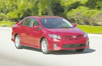 2013 TOYOTA COROLLA: Bland but beloved