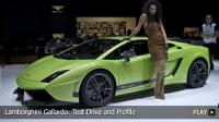 Lamborghini Gallardo: Test Drive and Profile