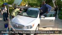 Shaquille O'Neil and Ving Rhames: Behind the Scenes at Buick