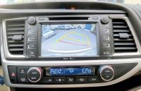 Backup camera helpful when parking