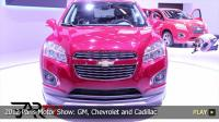 2012 Paris Motor Show: GM, Chevrolet and Cadillac