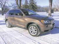 2013 BMW X3 xDrive 28i: Alphanumerics designed to inspire