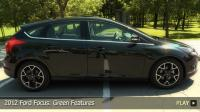 2012 Ford Focus: Green Features