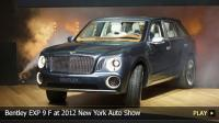 Bentley EXP 9 F at 2012 New York Auto Show