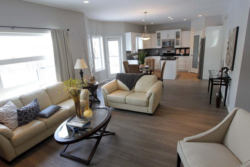 <p>BORIS MINKEVICH / WINNIPEG FREE PRESS</p><p>One of the homes featured in Spring Parade of Homes, 50 Wainwright Crescent in River Park South.</p>