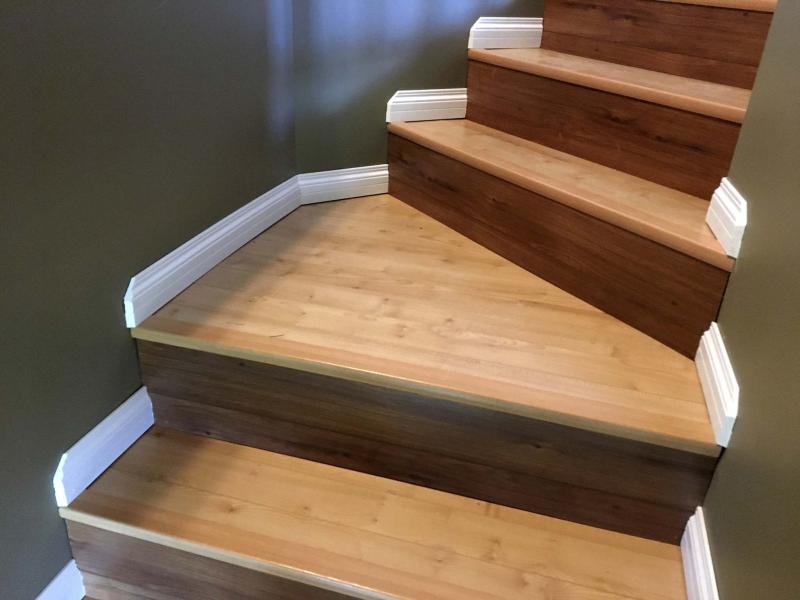 Laminate Stepping Up To Great Stairs Winnipeg Free