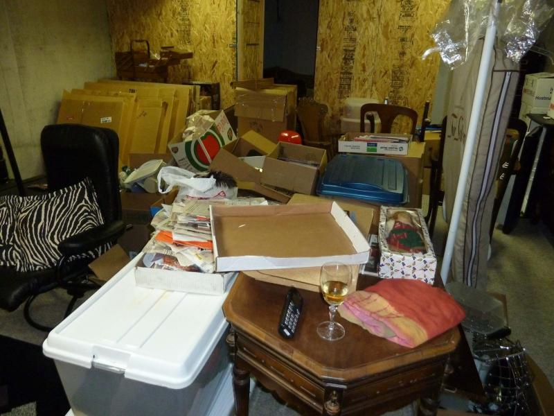 """<p>Photos by Laurie Mustard / Winnipeg Free Press</p><p>This heap of """"stuff"""" that Free Press reader Sharon had in her home really wasn't that much to chew through — it only took us a few hours.</p>"""