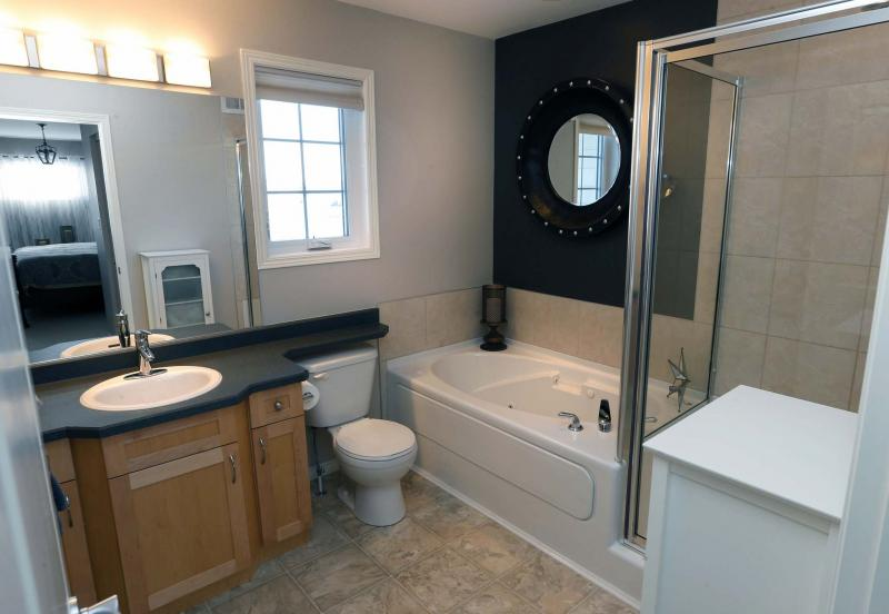 Ensuite Bathroom Winnipeg condo feels like a house - winnipeg free press homes