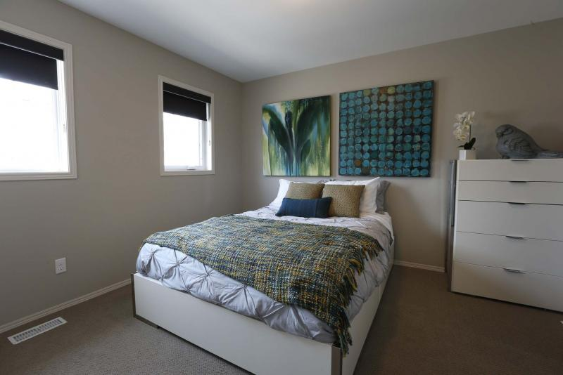 <p>WAYNE GLOWACKI / WINNIPEG FREE PRESS</p><p>The third floor has a pair of good-sized bedrooms. </p>