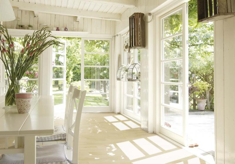 <p>Lauzon Flooring</p><p>A stylish sunroom can be a great gathering place for family and friends.</p>