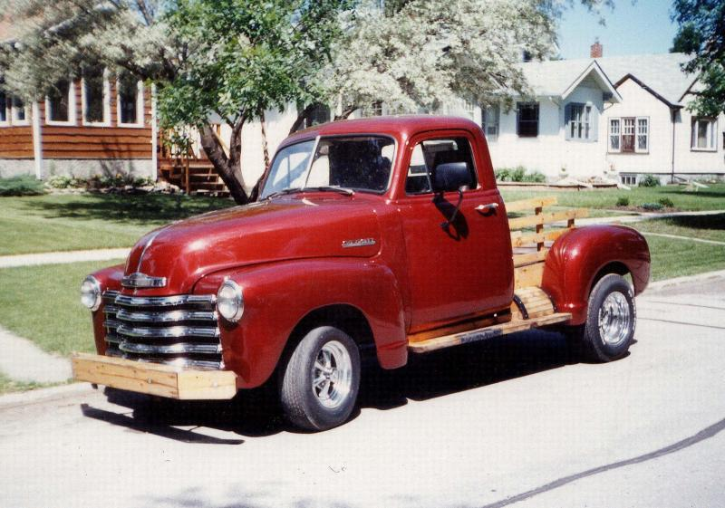 <p>PHOTOS BY MARC LABOSSIERE / WINNIPEG FREE PRESS</p><p>This 1952 Chevy half-ton brings back memories of one of my earliest wood-working projects.</p>