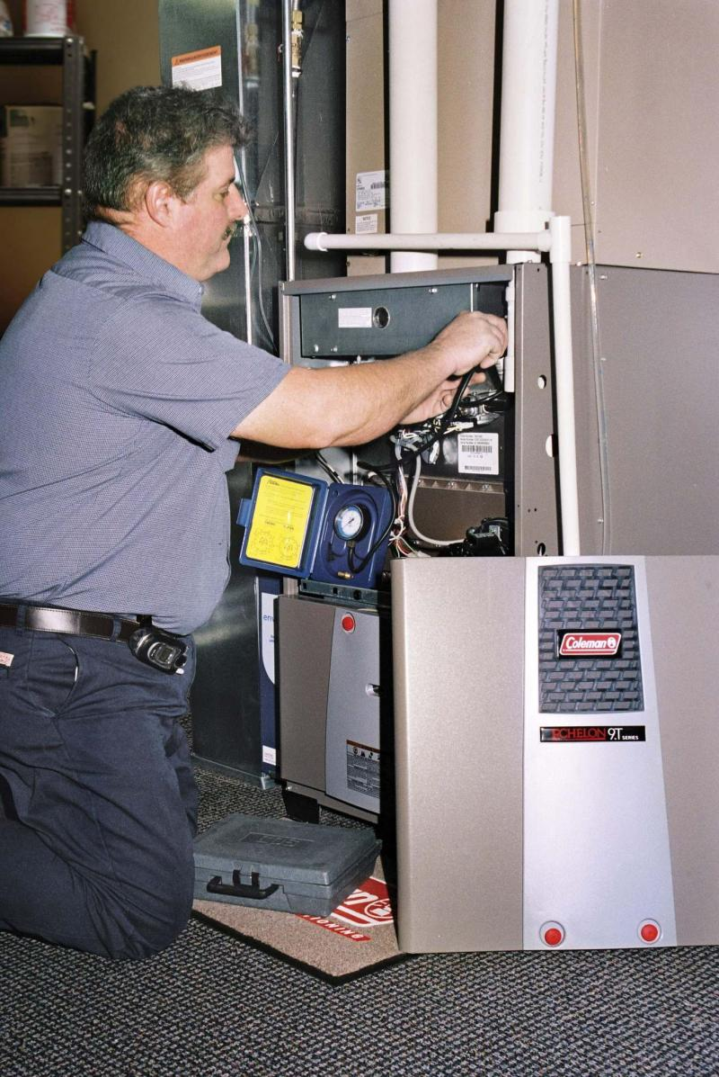 <p>Johnson Controls Inc. / The Associated Press files</p><p>A fresh-air intake duct in the area near your furnace helps ensure safe operation.</p>