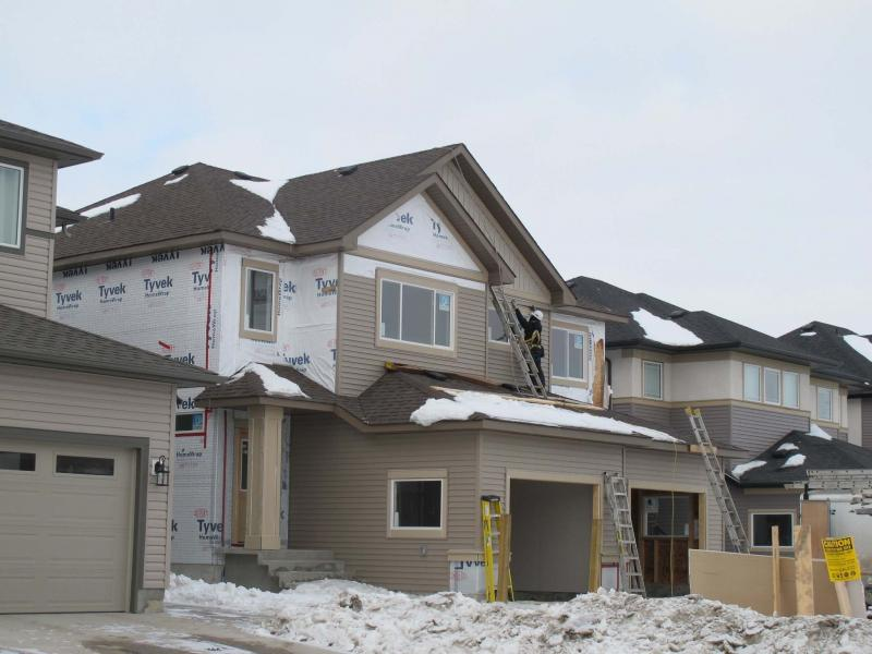 <p>Willy Williamson / Winnipeg Free Press</p><p>Single family detached starts for the first three months of 2016 are slightly ahead of last year. </p>