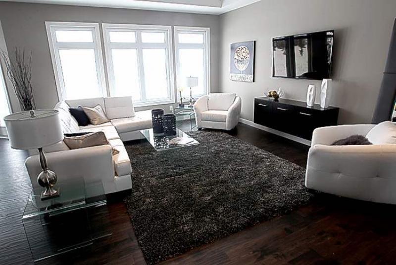 Paradigm Homes Show Home In La Salle Manitoba Living Room See Todd Lewys Story March 05 2012 Joe Bryksa Winnipeg Free Press
