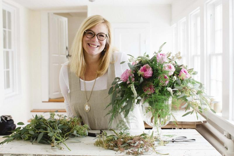 <p>Kate Headley Photography</p><p>World-class florist Holly Heider Chapple will be one of the guests at this year's Art in Bloom, hosting a master class for professionals and an already-sold-out floral workshop for amateurs.</p>