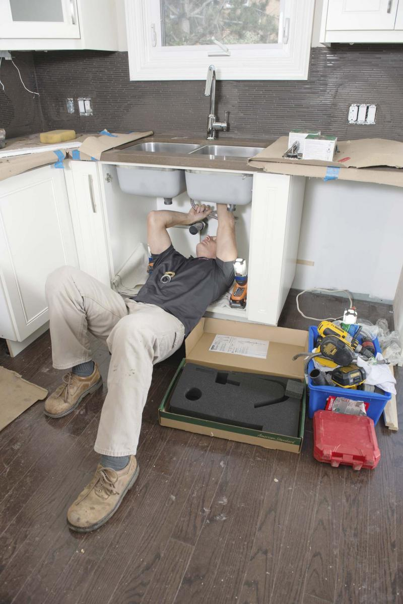 <p>Alex Schuldtz / The Holmes Group</p><p>Sometimes its worth bringing in a plumber if your don't understand the piping in your house.</p>