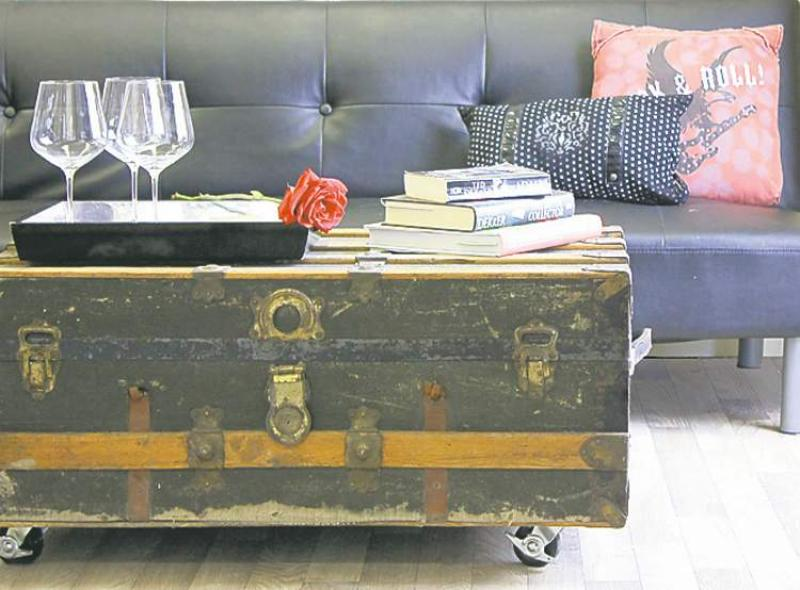 Old Trunk Becomes Coffee Table Winnipeg Free Press Homes