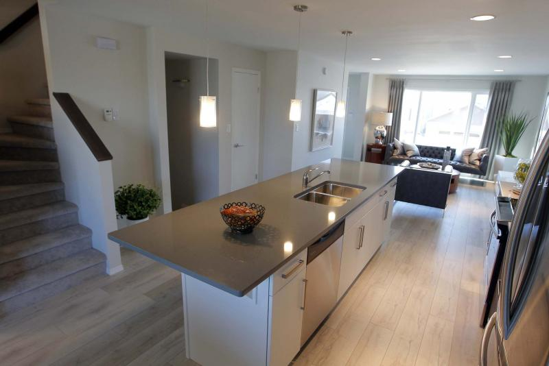 <p>BORIS MINKEVICH / WINNIPEG FREE PRESS</p><p>NEW HOMES - 240 Cherrywood Road in Bridgwater Trails . Sept. Large island in the kitchen. 18, 2017</p>