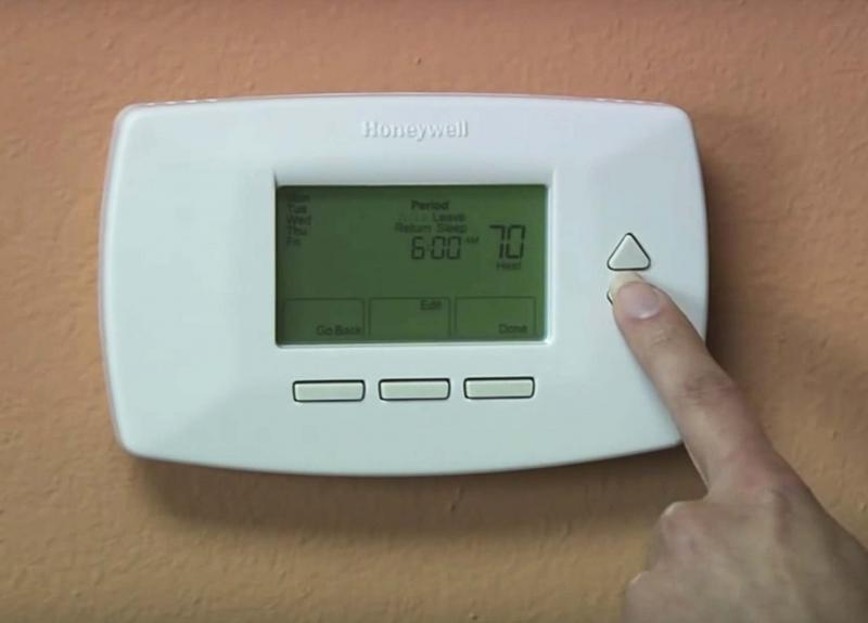 <p>EPA / The Associated Press</p><p>Consider investing in a programmable thermostat to maximize energy efficiency.</p></p>