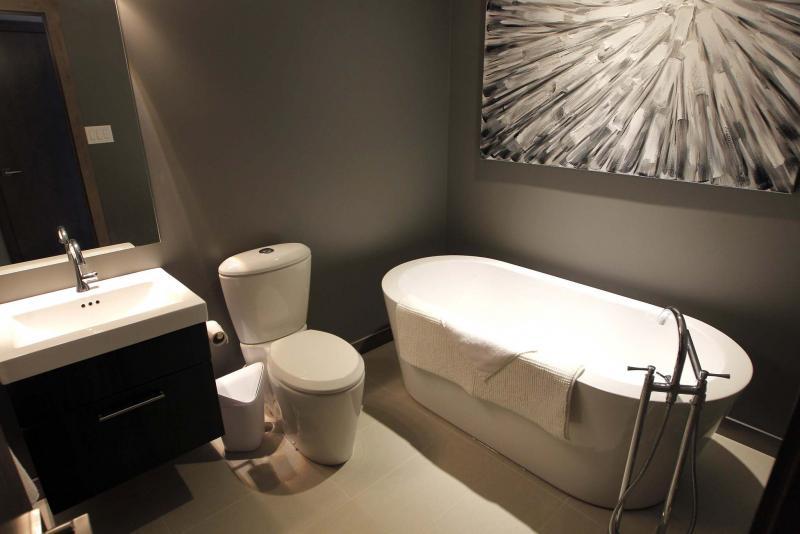<p>BORIS MINKEVICH / WINNIPEG FREE PRESS</p><p>USED HOMES - 153 Rue Hebert in St. Boniface. Bathroom with fancy tub. Nov. 29, 2016</p>