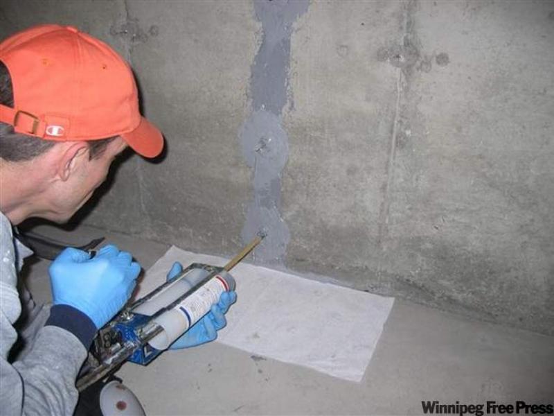 foundation crack epoxy injection cost