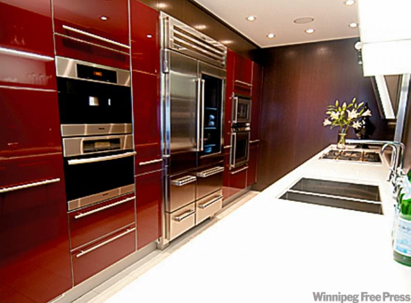 You can do a condo winnipeg free press homes for Long kitchen wall units