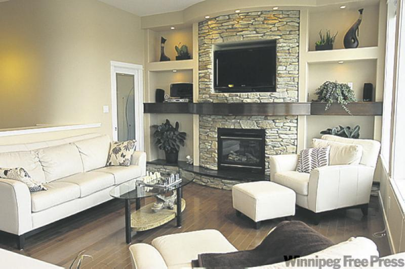 Space style super layout winnipeg free press homes for Living room with 10 foot ceiling