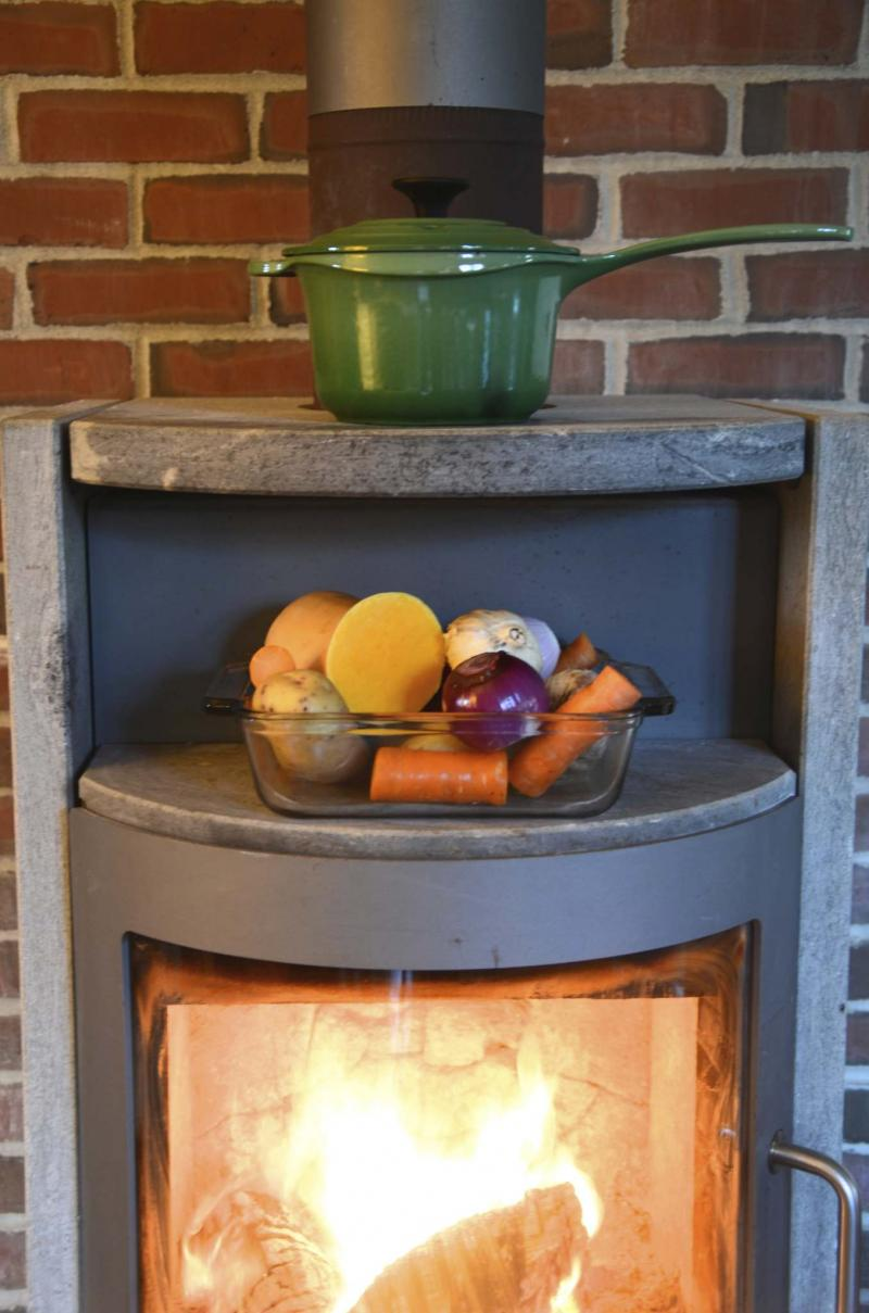 <p>Barbara Damrosch / The Associated Press files</p><p>Getting rid of glue streaks on woodstove glass could be as easy as a No. 2 pencil.</p>