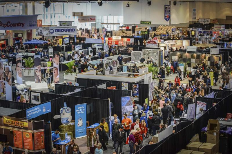 <p>Supplied</p><p>Hundreds of exhibitors fill the entire third floor of the RBC Convention Centre Winnipeg for the annual Winnipeg Home and Garden Show.</p>
