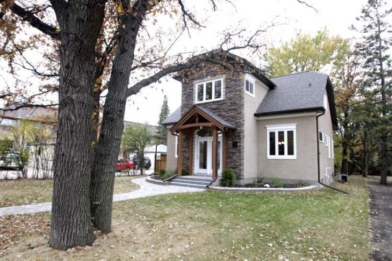 Brand New Classic Winnipeg Free Press Homes