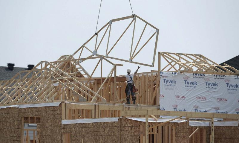 <p>Sean Kilpatrick / The Canadian Press</p><p>Residential construction in Fort McMurray is booming, but in much of the rest of Alberta — and other regions of Canada — it is a struggling sector.</p></p>