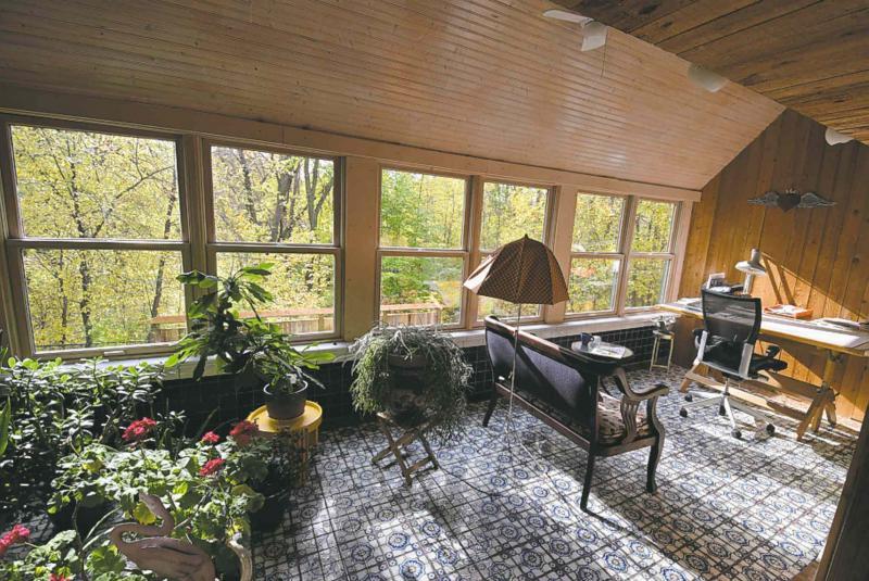 contemporary castle - winnipeg free press homes