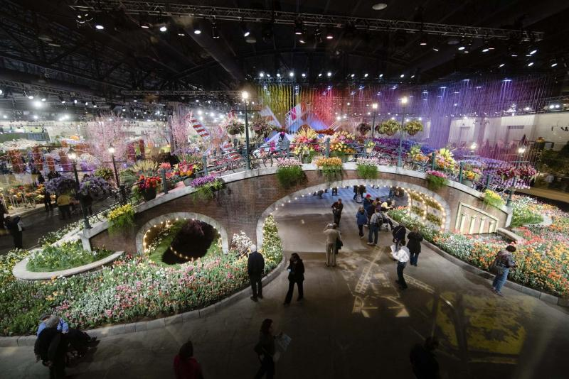 <p>Matt Rourke / The Associated Press</p><p>The 2017 Philadelphia Flower Show pays homage to the Netherlands, home of 77 per cent of the global bulb trade and 44 per cent of the world's cut flowers.</p></p>