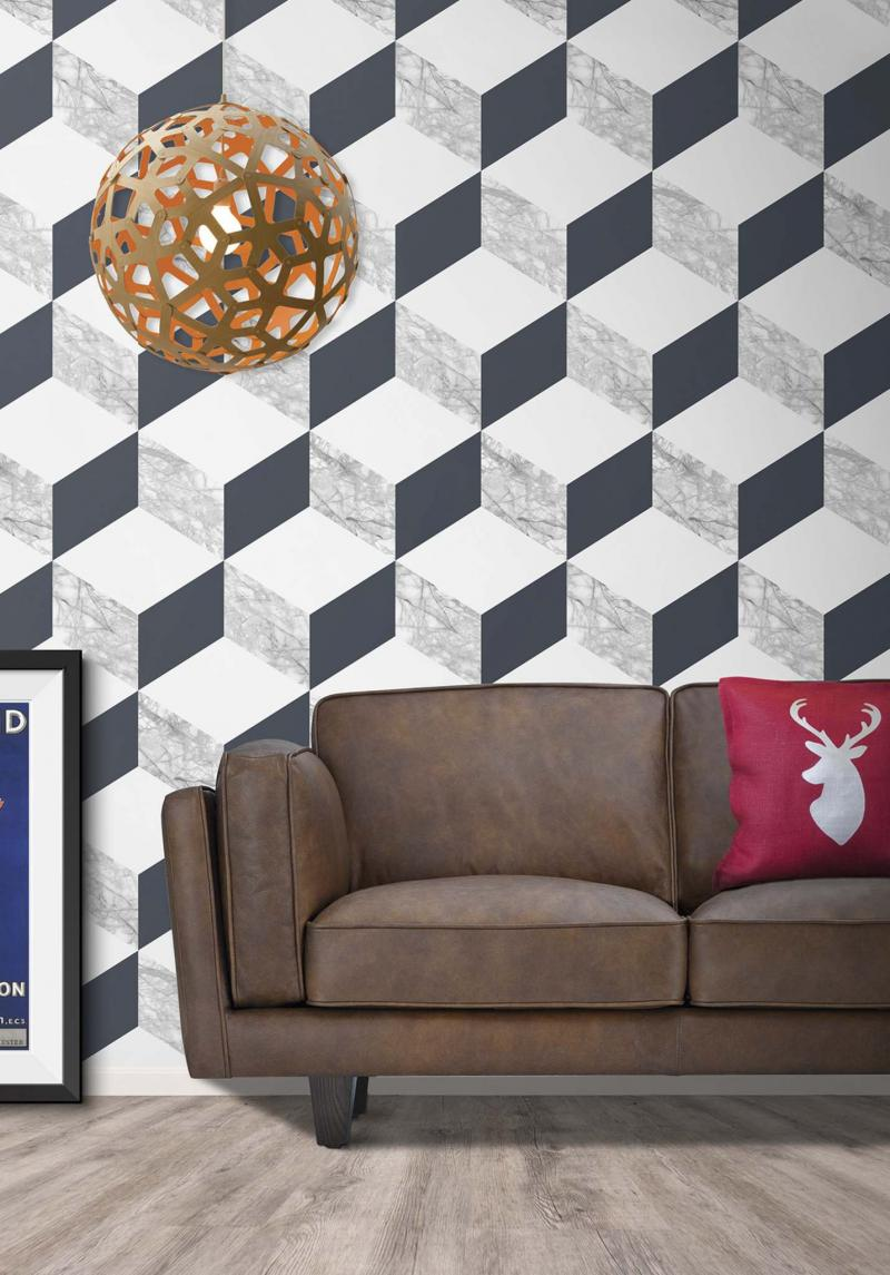 <p>Burke Decor</p><p>Burke Decor's Marble Block wallpaper.</p></p>