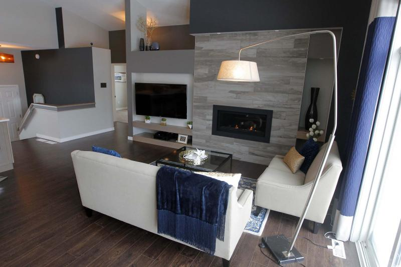 <p>BORIS MINKEVICH / WINNIPEG FREE PRESS</p><p>The 1,578-square-foot house, designed by Avanti Custom Homes, features three bedrooms and two bathrooms, as well as a larger lower level that could accommodate another bedroom or two and a bathroom.</p></p>