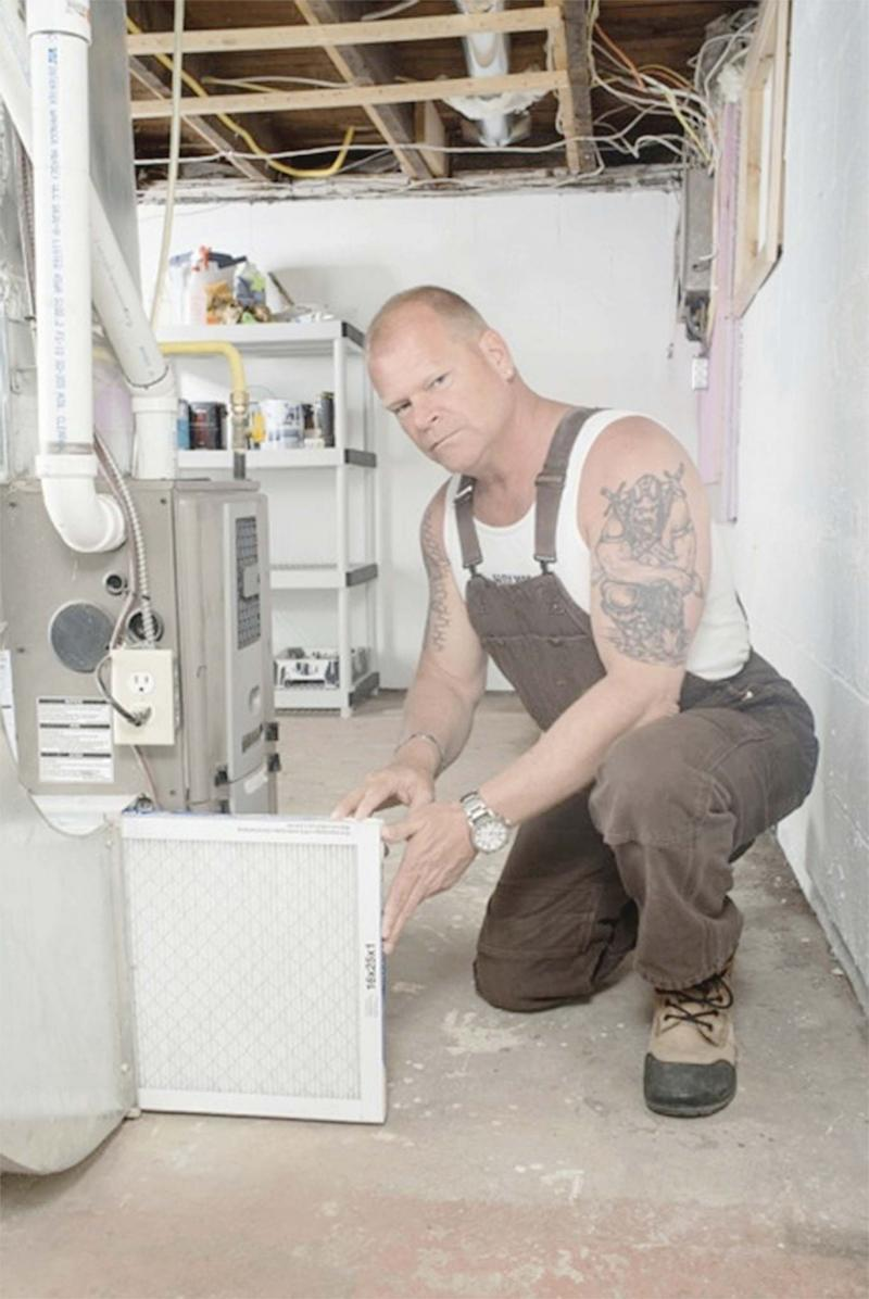 <p>SUPPLIED</p><p>Mike Holmes says a furnace is like a second set of lungs — changing the filter keeps you both breathing properly.</p>