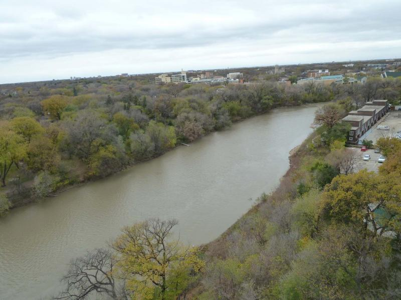 <p>Photos by Laurie Mustard / Winnipeg Free Press</p></p><p>The Assiniboine River, once a major throughway for paddlewheelers and other craft that would carry goods all along its length, right up into Saskatchewan.</p>