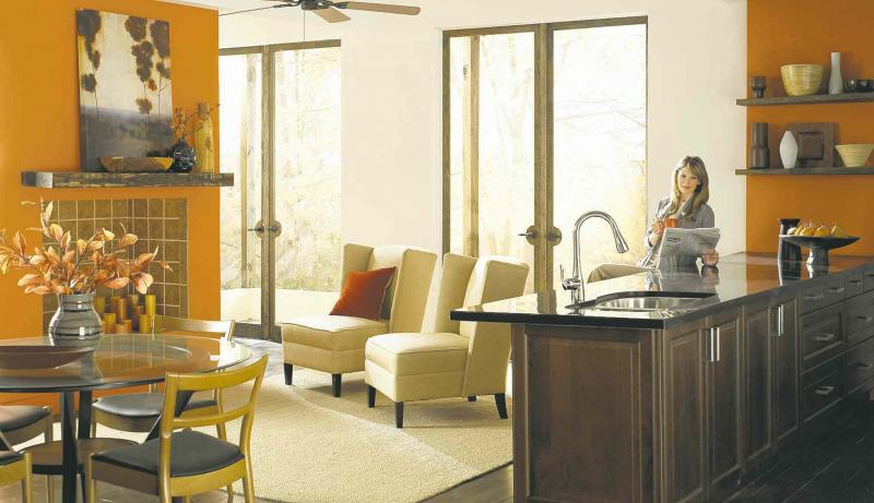 How to tackle an open concept design winnipeg free press for Concept home builders