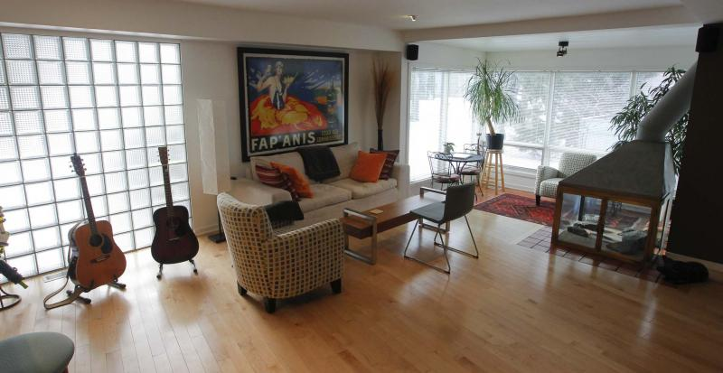 <p>photos by BORIS MINKEVICH / WINNIPEG FREE PRESS</p><p>This house built in the 1940s sits on an 80-foot-by-120-foot corner lot. The two-storey home has been updated over the years, so it does not feel dated.</p>