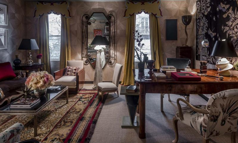 <p>Nick Olsen, who designed the room Salon du Beau Monde at Kips Bay, says his main advice for small space design is not to be too respectful of scale.</p>