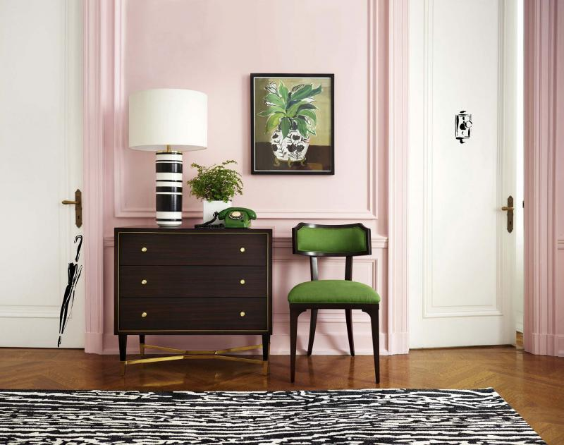 <p>Kate Spade New York / Tribune News Service</p><p>Lighter pinks work well as a contrast colour with dark shades such as brown and black.</p>