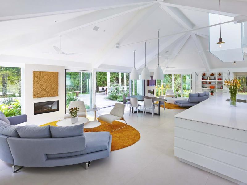 <p>Alan Karchmer / The Associated Press </p><p>Many are opting for some combination of living room, dining room, family room and kitchen. </p>