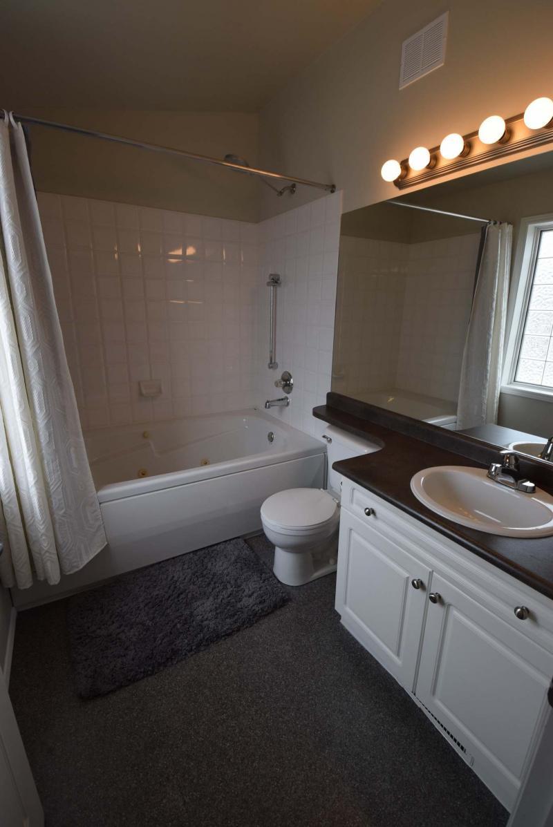 Ensuite Bathroom Winnipeg cavernous condo - winnipeg free press homes