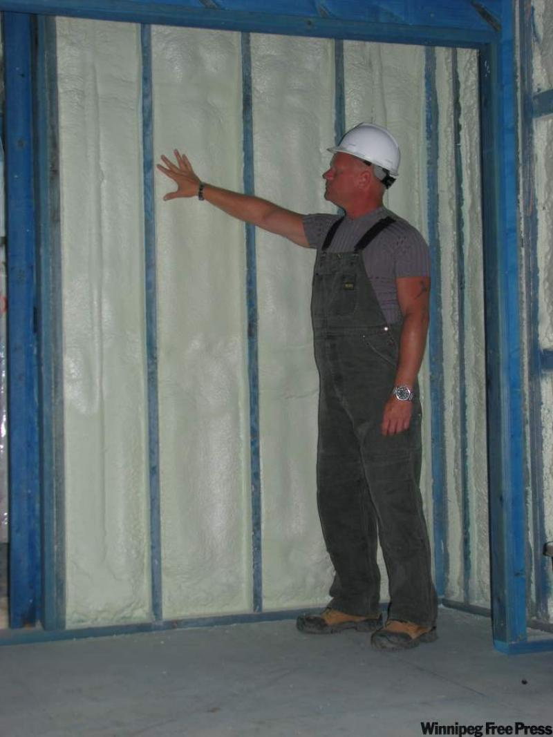 Ask the inspector rigid foam insulation needs covering up - Adding insulation to interior walls ...