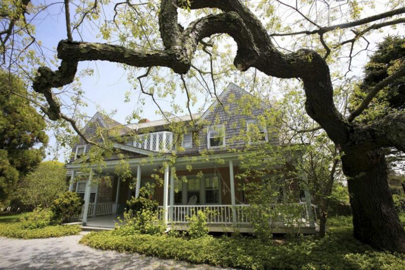 <p>Corocoran Group Real Estate</p><p>Grey Gardens is one of the few remaining original-shingle homes south of the highway in East Hampton, N.Y. </p>
