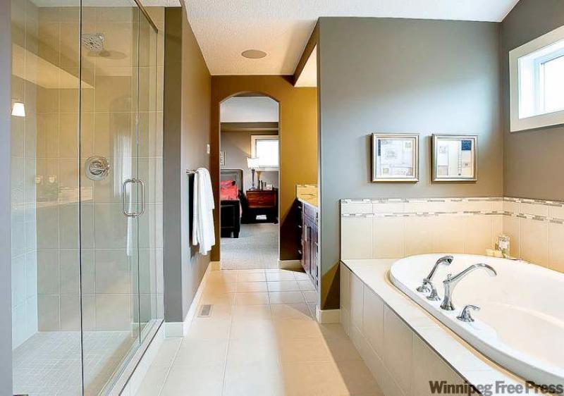 Ensuite Bathroom Winnipeg bedroom ensuite adds sweet value to home - winnipeg free press homes