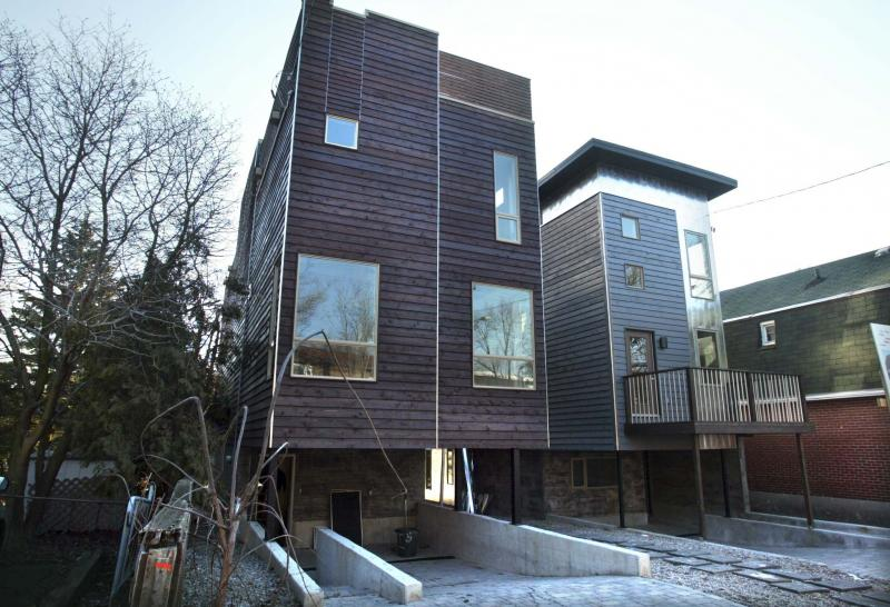 <p>Bruno Schlumberger / The Canadian Press files</p><p>Newly built infill homes in older neighbourhoods could pose risks to adjacent houses.</p>