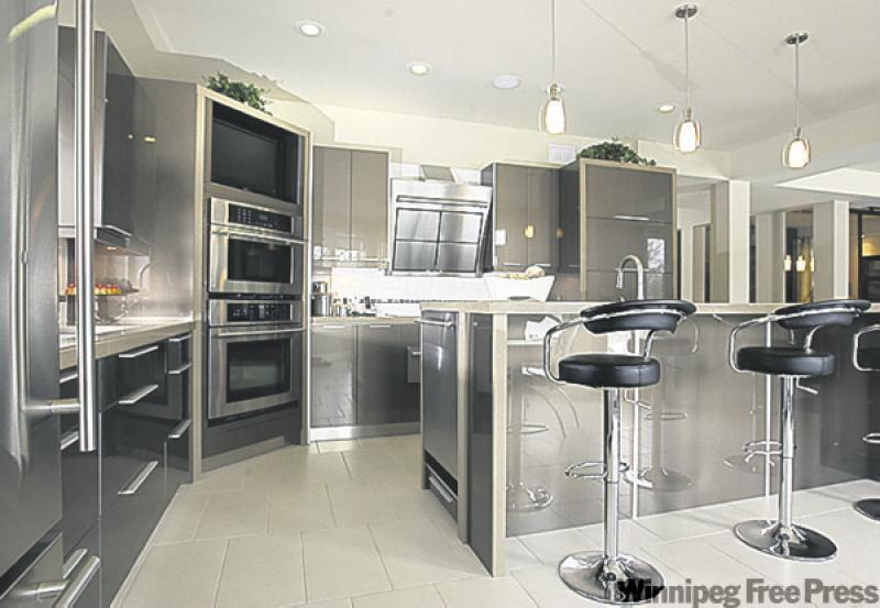 This prize is a winner winnipeg free press homes for Thermofoil kitchen cabinets