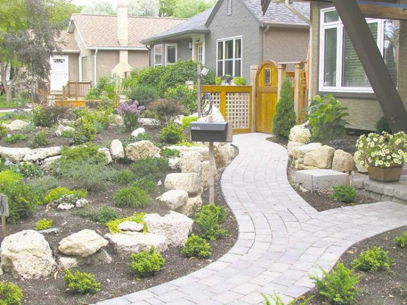 Gardening like a rock winnipeg free press homes for Free rock garden designs